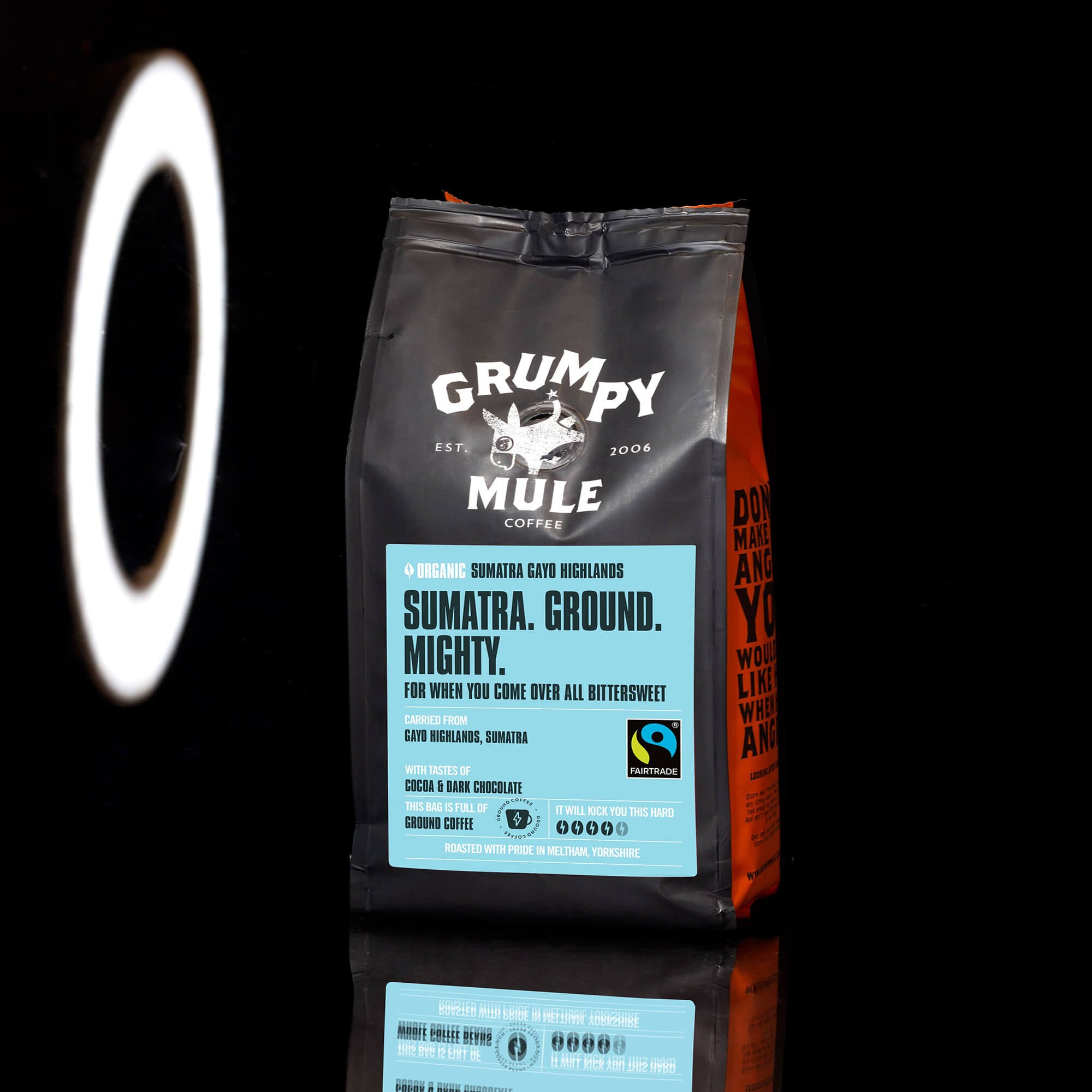 Organic Sumatra Ground Gayo Highlands Ground Coffee - Grumpy Mule