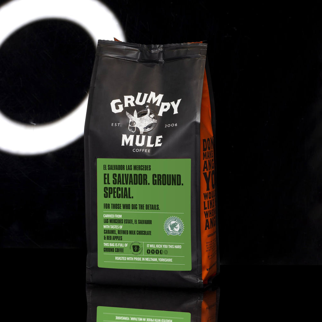 Grumpy Mule El Salvador La Mercedes Ground Coffee