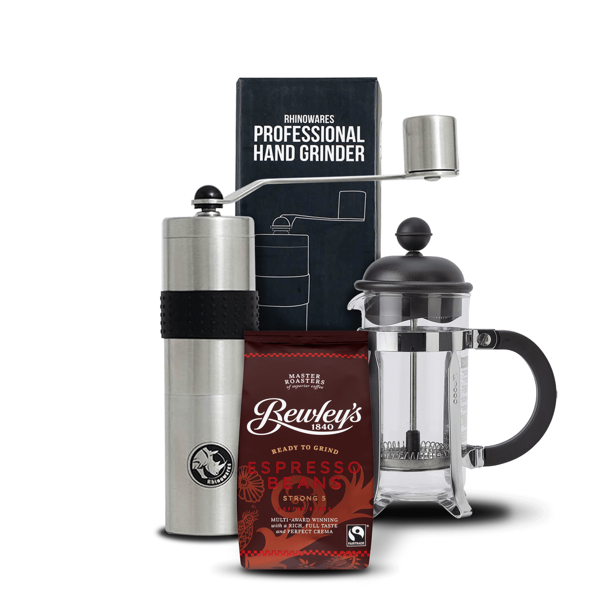 Cafetiere Christmas Home Grind Gift Set - Bewley's Tea & Coffee