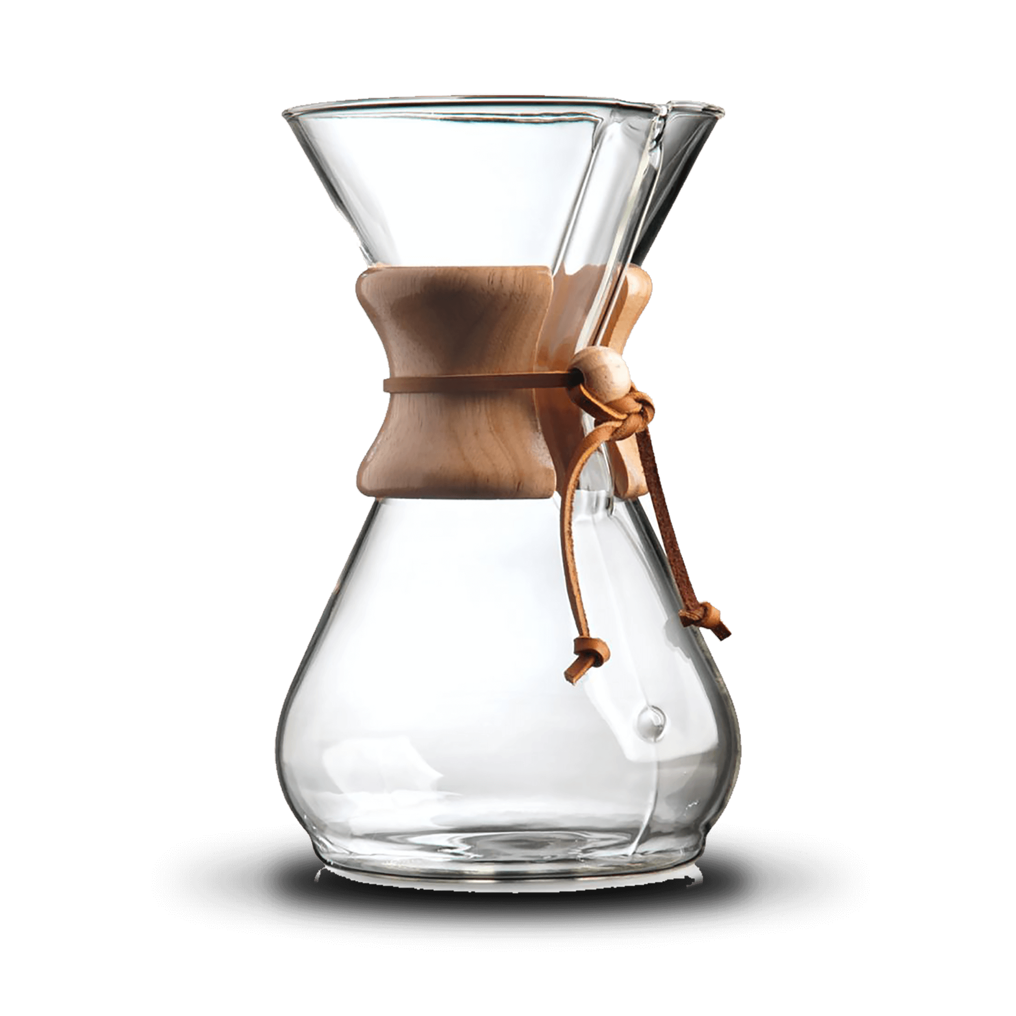 Chemex® 8-Cup Wood Neck Coffee Maker - Bewley's Tea & Coffee