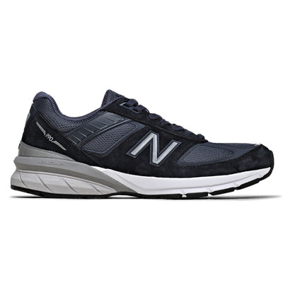 990 Sneakers (Navy/Silver)