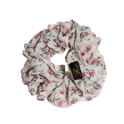 Flower Scrunchie (Rose)