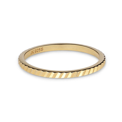 Small Reflection Ring (Guld)