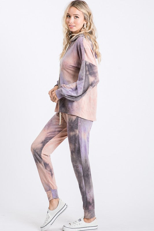 Good Vibes Tie Dye Joggers