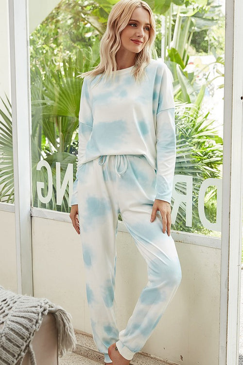 Cozy Livin' Tie Dye Lounge Set