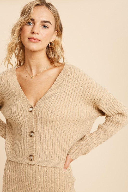 What's Knit To Love Cardigan