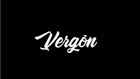 Vergon - High Quality PVC Decal x 3