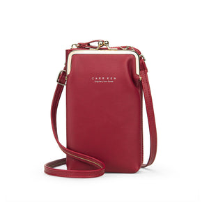 **55%OFF TODAY ONLY WITH LIMITED STOCKS** Women Phone Bag Solid Crossbody Bag