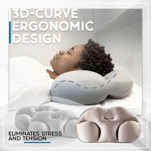 3D All-Rounded Sleep Pillow