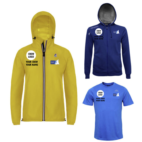 Crew Kit #1 Female - Customizable K-WAY, Hoodie, T-shirt Regatta ESCP Europe