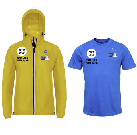 Crew Kit #2 Female - Customizable K-WAY, T-shirt Regatta ESCP Europe