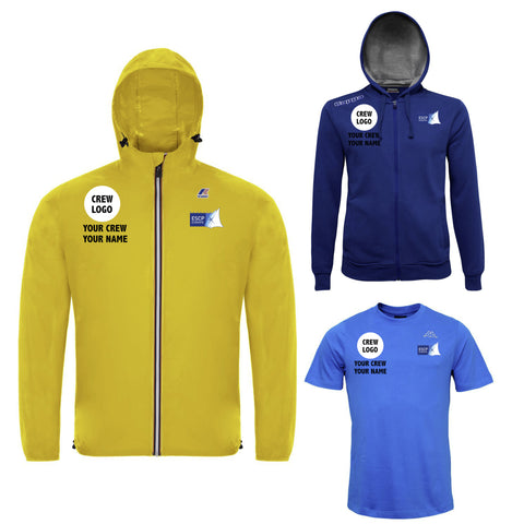 Crew Kit #1 Male - Customizable K-WAY, Hoodie, T-shirt Regatta ESCP Europe