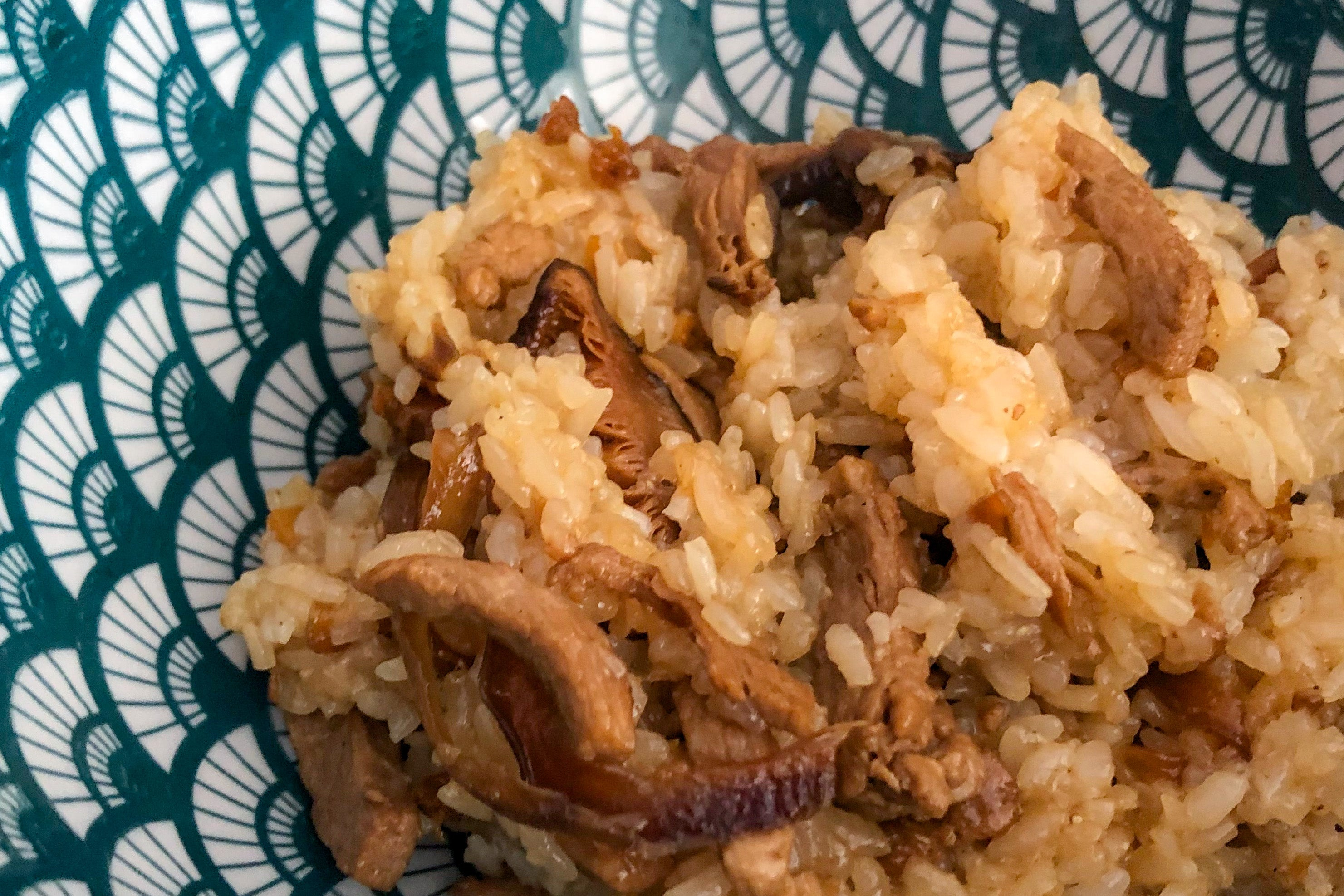 Pork Sticky Rice </br> 油飯