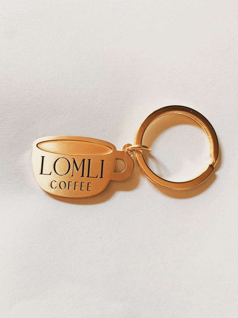 KEY TO MY HEART LOMLI KEYCHAIN - lomlicoffee