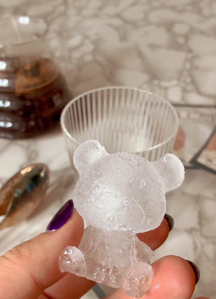 HENRY THE TEDDY BEAR ICE MOLD - lomlicoffee