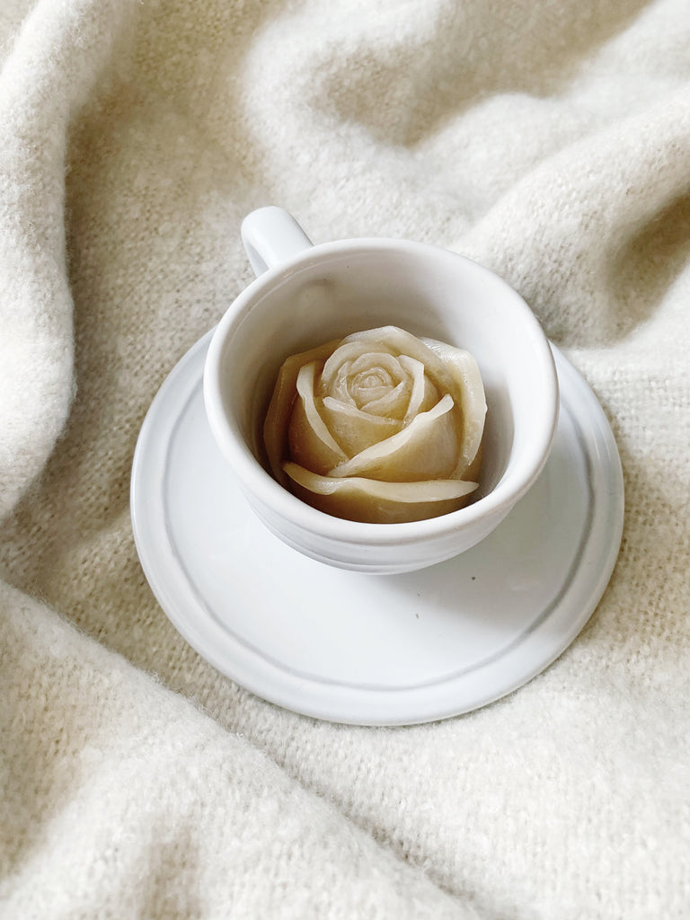 ROSETTE ROSE ICE MOLD - lomlicoffee