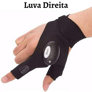 Luva Lanterna Flashlight Multifuncional