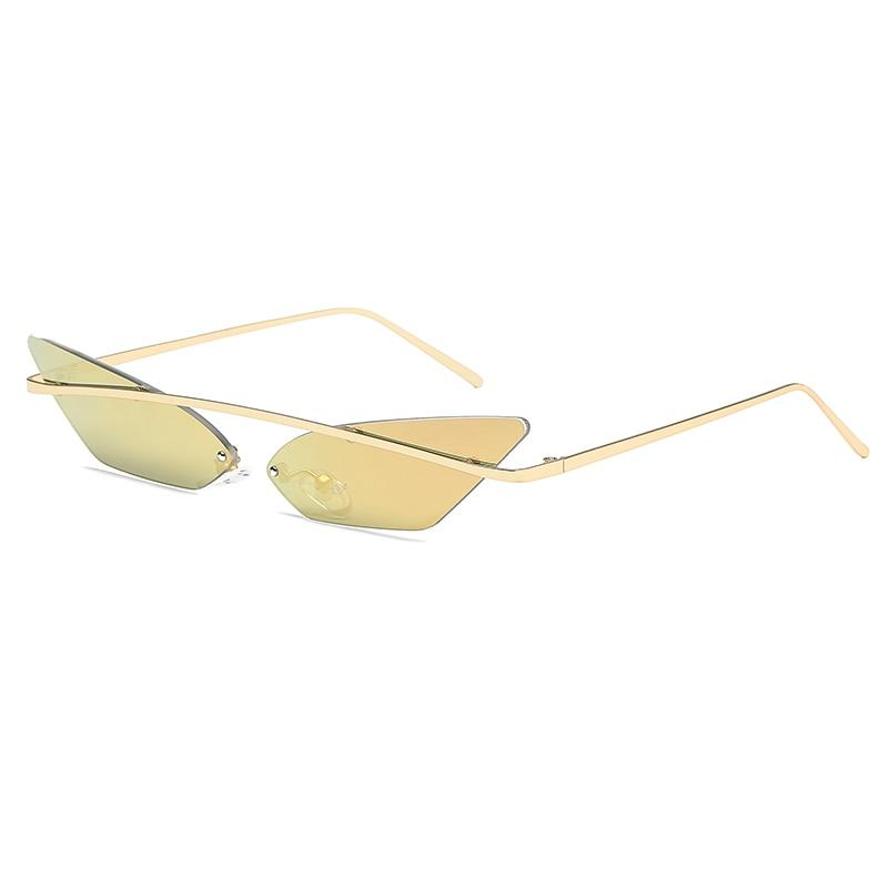 2030 Cat-eye Sunglasses Sunglasses Posh Loox Champaign poshloox