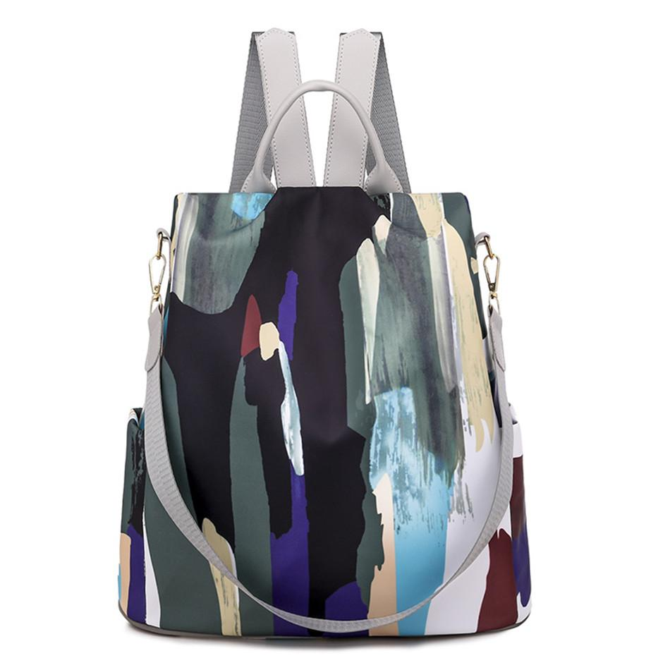 Acid Canvas Backpack Posh Loox Dark Sky poshloox
