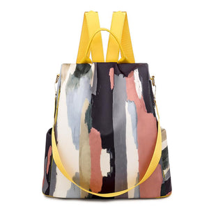 Acid Canvas Backpack Posh Loox Summer Lemonade poshloox