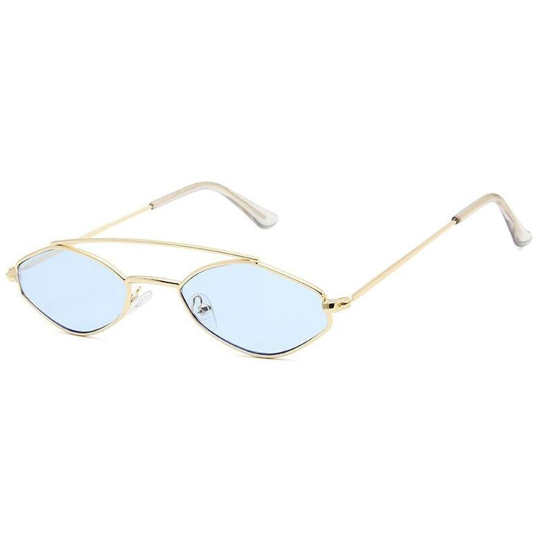 Apate Sunglasses Sunglasses Posh Loox Gold x Blue poshloox