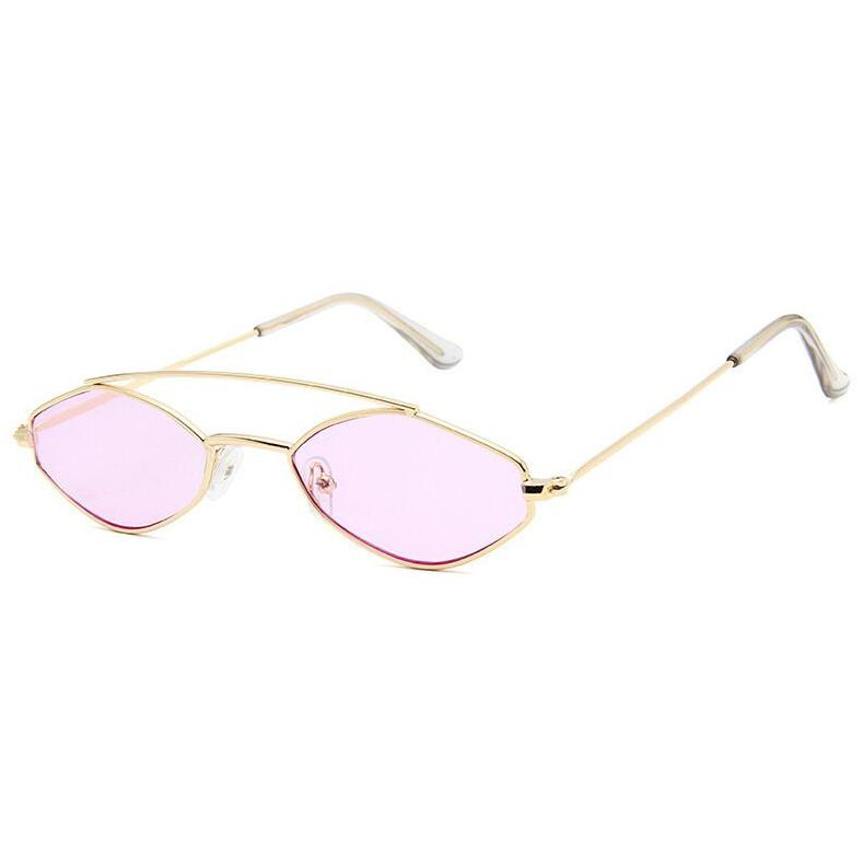 Apate Sunglasses Sunglasses Posh Loox Gold x Blush poshloox