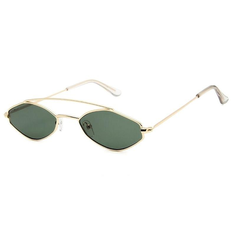 Apate Sunglasses Sunglasses Posh Loox Gold x Green poshloox