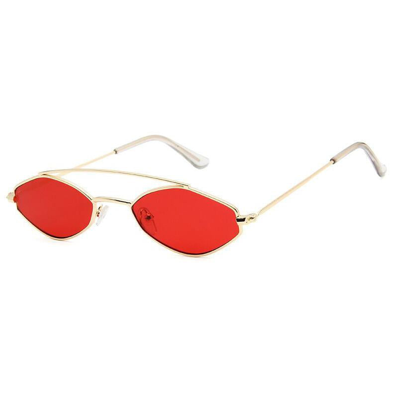 Apate Sunglasses Sunglasses Posh Loox Gold x Red poshloox