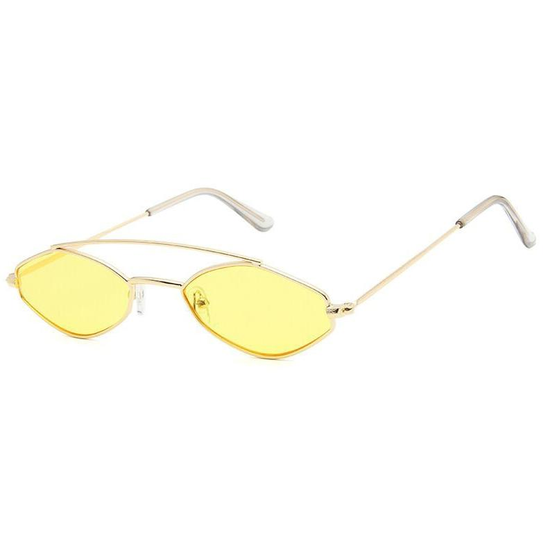 Apate Sunglasses Sunglasses Posh Loox Gold x Yellow poshloox