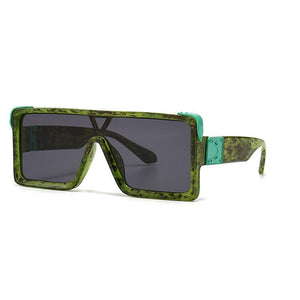 Athena Sunglasses Sunglasses Posh Loox Dirty Green x Black poshloox