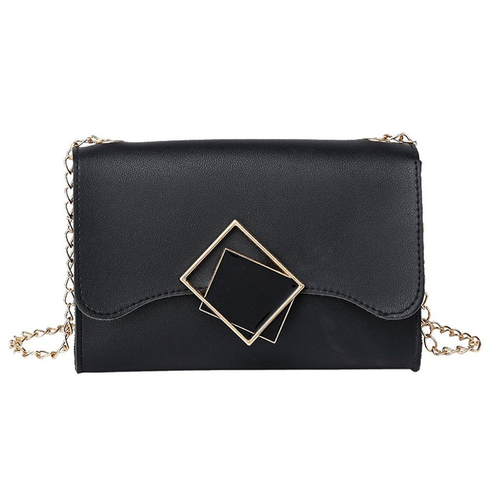 Black Mirrors Crossbody Bag Posh Loox Black poshloox