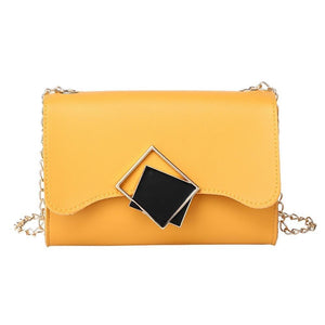 Black Mirrors Crossbody Bag Posh Loox Orange poshloox