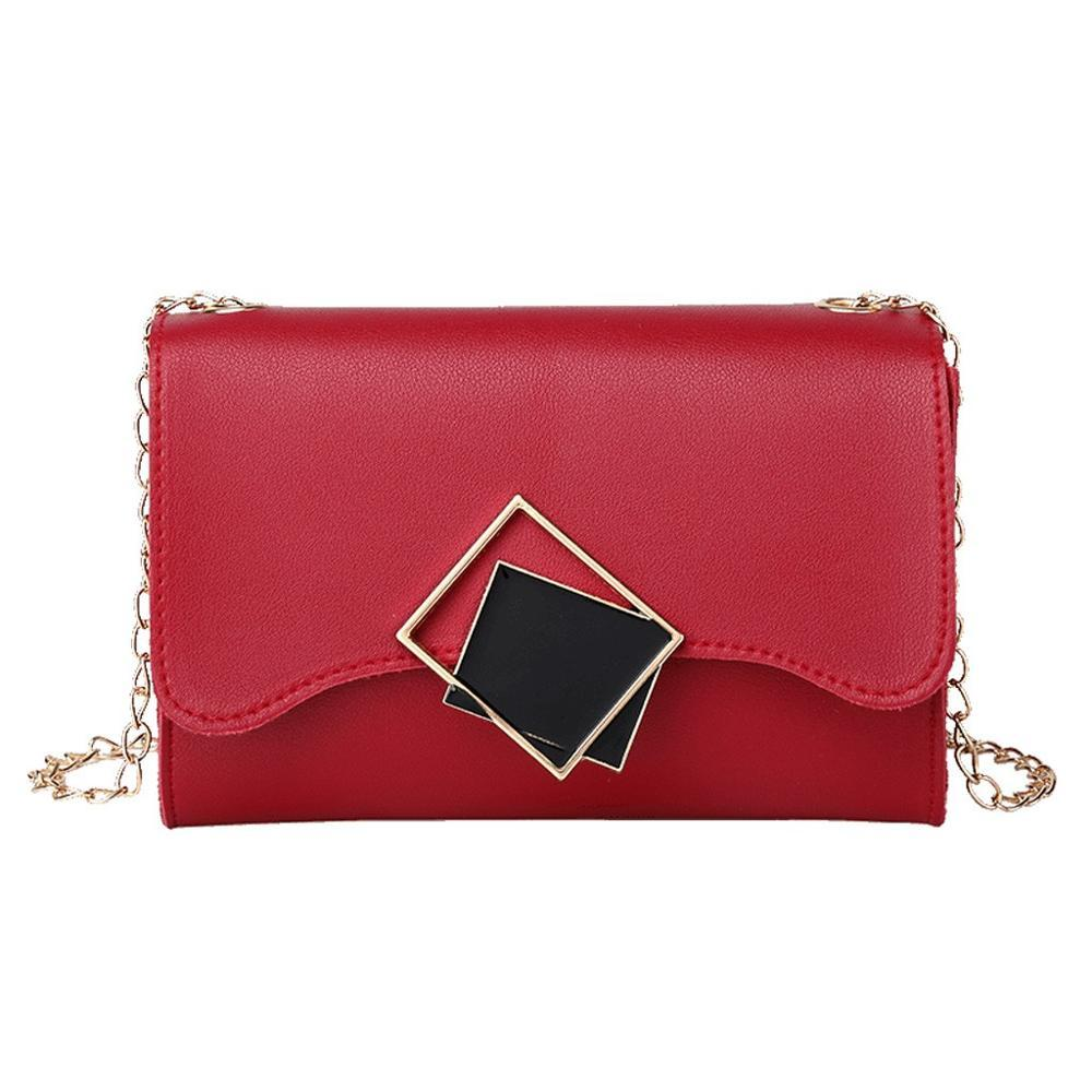 Black Mirrors Crossbody Bag Posh Loox Red poshloox