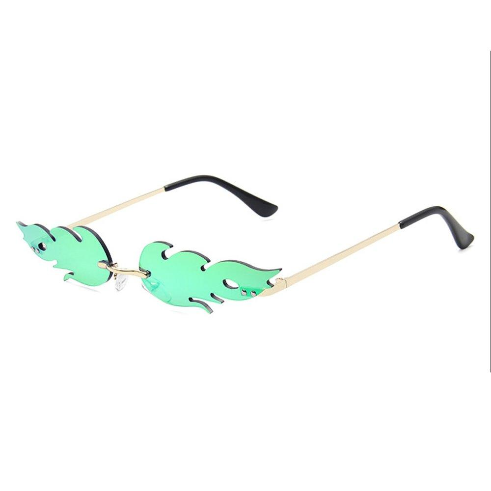 Boring Sunglasses Sunglasses Posh Loox Gold x Mint poshloox