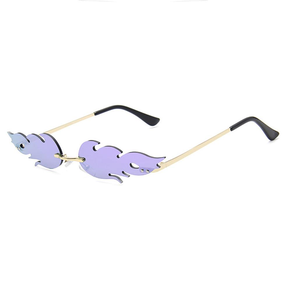 Boring Sunglasses Sunglasses Posh Loox Gold x Purple poshloox