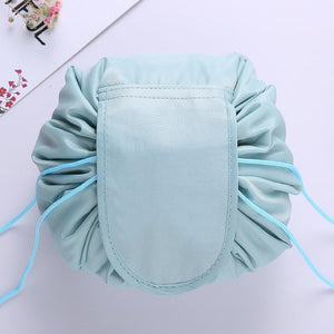 Convy Flat Cosmetic Bag Posh Loox Dusty Cyan poshloox