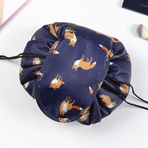 Convy Flat Cosmetic Bag Posh Loox Fox poshloox