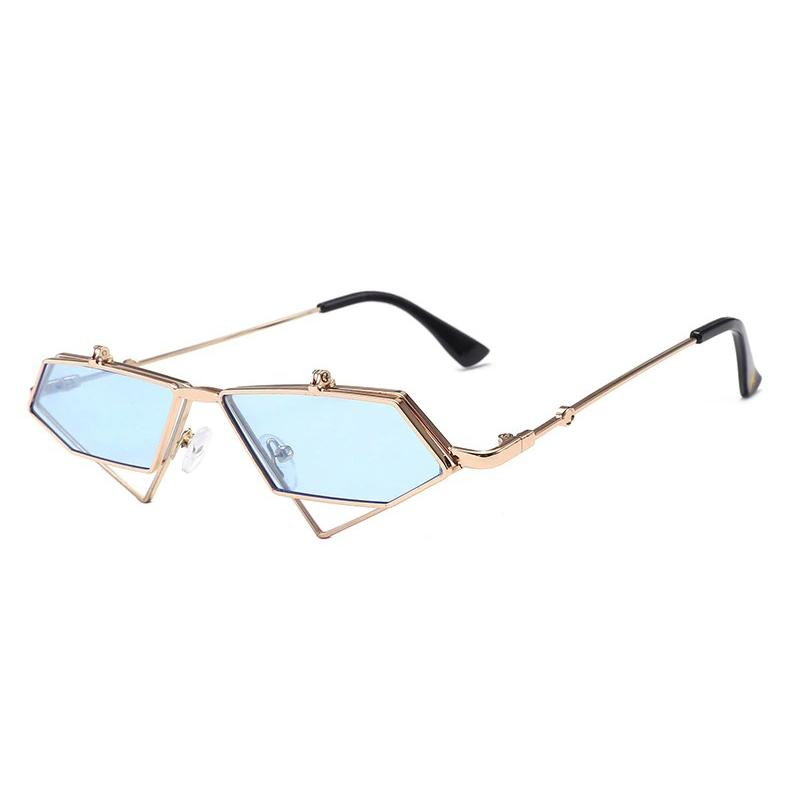 Extraterrestrial Flip-Up Sunglasses sunglasses Posh Loox Sky Blue poshloox