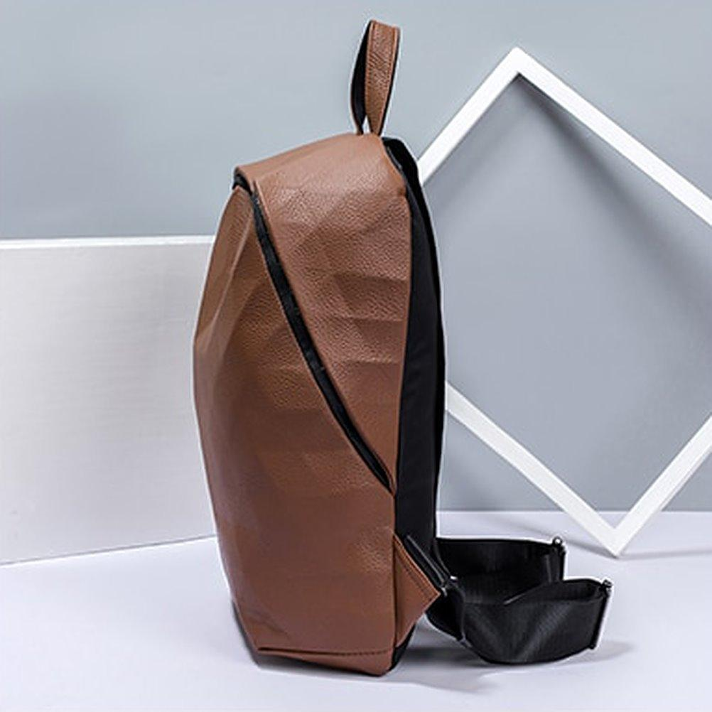 Geo Leather Backpack Posh Loox poshloox