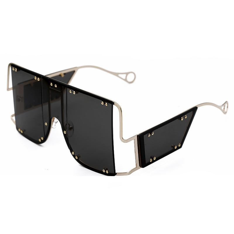 Glasses n' Studs V2 Sunglasses Sunglasses Posh Loox Gold x Black poshloox