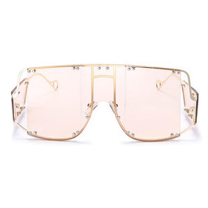 Glasses n' Studs V2 Sunglasses Sunglasses Posh Loox Gold x Blush poshloox