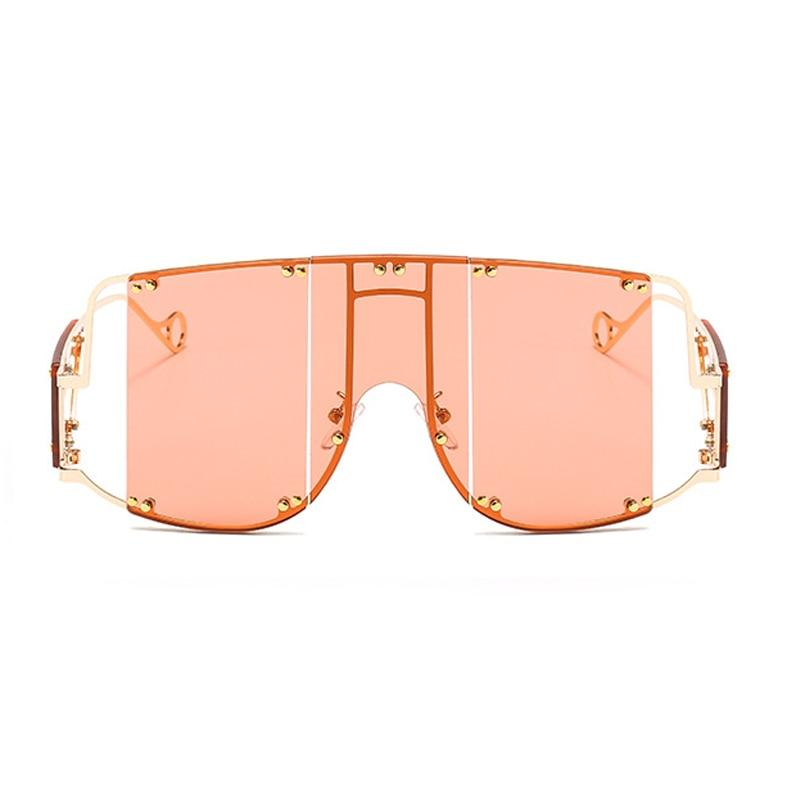Glasses n' Studs V2 Sunglasses Sunglasses Posh Loox Gold x Coral poshloox