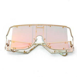Glasses n' Studs V2 Sunglasses Sunglasses Posh Loox Gold x Mint x Pink poshloox