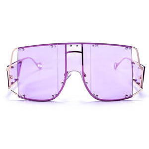 Glasses n' Studs V2 Sunglasses Sunglasses Posh Loox Gold x Violet poshloox