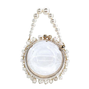 Hollywood Glam Handbag Posh Loox White poshloox