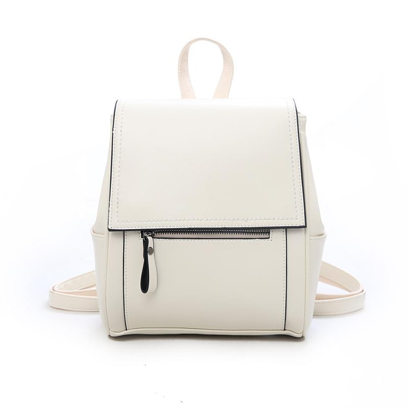 Leather Fantasy Backpack Posh Loox Beige poshloox