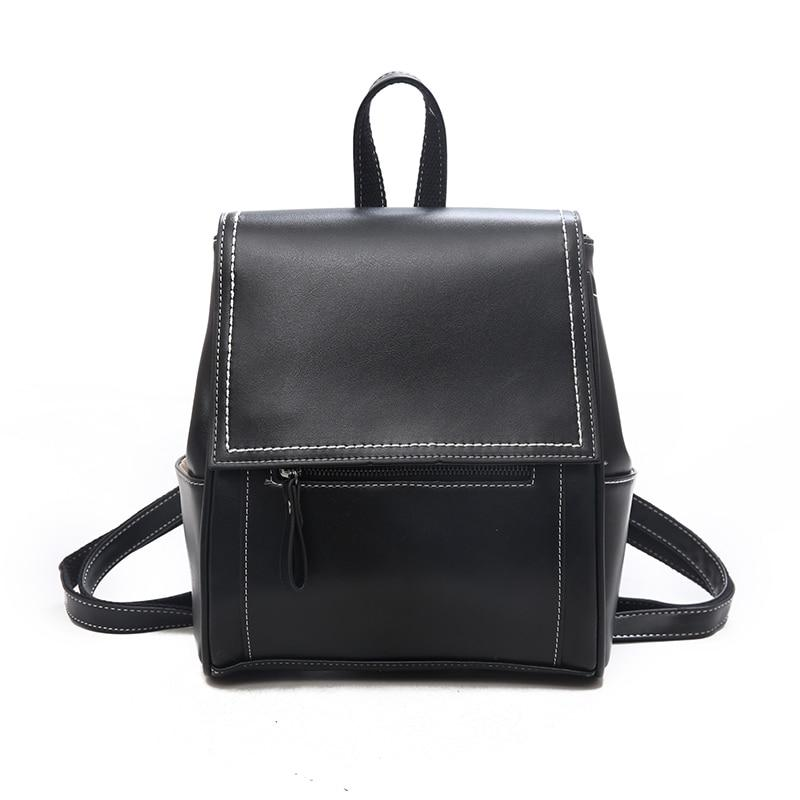 Leather Fantasy Backpack Posh Loox Black poshloox