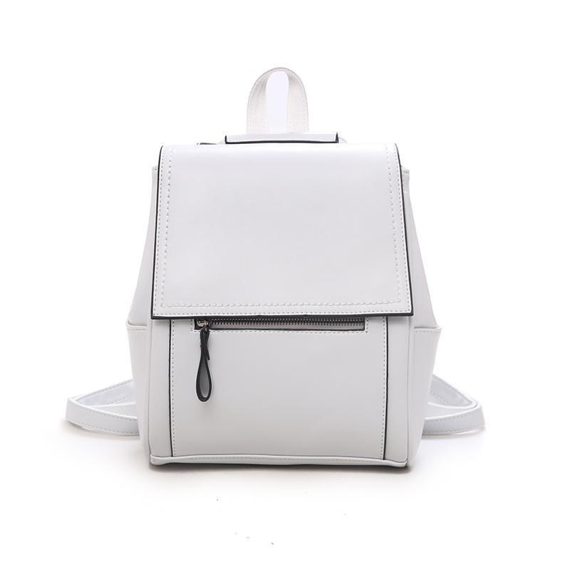 Leather Fantasy Backpack Posh Loox White poshloox