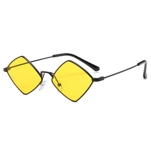 PL RhombLoox Sunglasses Sunglasses Posh Loox Black x Yellow poshloox