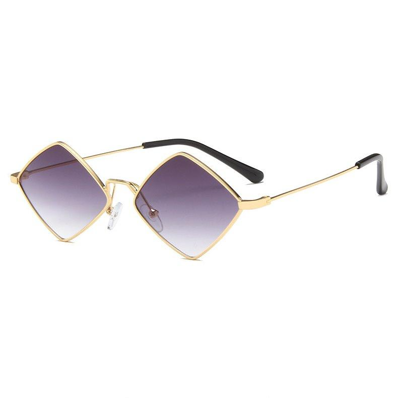 PL RhombLoox Sunglasses Sunglasses Posh Loox Gold x Purple poshloox